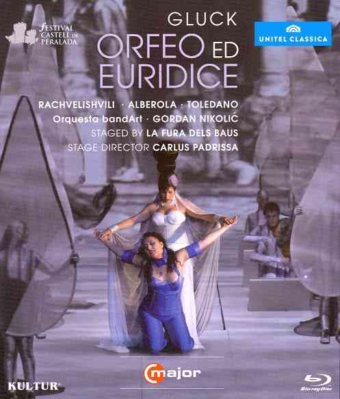 ORFEO ED EURIDICE BY RACHVELISHVILI,ANIT (Blu-Ray)